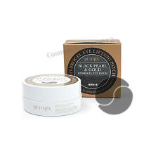 PETITFEE Black Pearl & Gold Hydro Gel Eye Patch 60 Sheet Free gifts