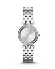 NEW MICHAEL KORS MK3294 LADIES SILVER PETITE DARCI WATCH - 2 YEAR WARRANTY