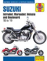 Suzuki VS700/750/800/VZ800/VL800/C50/M50/S50 1985-2019 Repair Manual