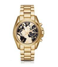 Michael Kors MK6272 Bradshaw Watch Hunger Stop Black & Gold Ltd Edition Watch