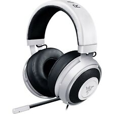 Razer Kraken Pro V2 Gaming Headset Headphones with Mic PC Mac PS4 Xbox One White