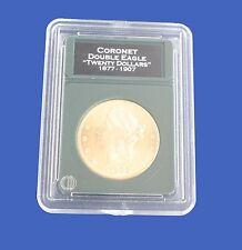Premier Slab Coin Holder  20 Dollar Gold Double Eagle w/ Labels New Design!