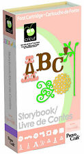 *New* STORYBOOK Font Number Letter Cricut Cartridge Factory Sealed Free Ship