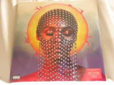"""JANELLE MONAE Dirty Computer 12"""" Neon PINK Vinyl SEALED 2 X LP Brian Wilson"""