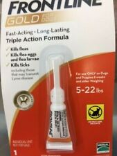 FRONTLINE Plus for 5 to 22 Pounds Dogs - 3 Doses