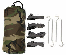 Aqua Quest Defender Tarp Kit - 100% Waterproof 3 x 2 m (10 x 7 ft) Medium - Camo