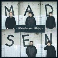 """MADSEN """"FRIEDEN IM KRIEG"""" CD 12 TRACKS NEU"""