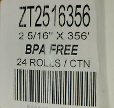 (24 Rolls) 2 5/16 x 356 Thermal Paper Rolls - Bpa Free rolls Pay at The Pump