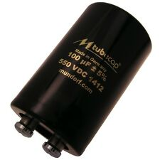 Mundorf tubecap ® 100uf 550v condensador Elko TCap para tubos amplificadores 854293