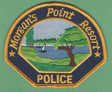 MORGAN'S POINT RESORT TEXAS POLICE SHOULDER PATCH