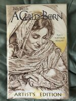 A Child is Born #1 Artists Edition Matthew & Luke NM Bible Billy Tucci