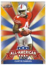 2017 Leaf Draft Football All-American Gold #AA-06 Curtis Samuel