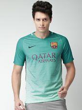 Nike FC Barcelona 16/17 3rd Away Shirt Sz L Green Teal 776844 525