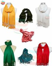 Pashmina Scarf Hijab Shawl Stole Wrap wedding 100% Viscose High Quality UK