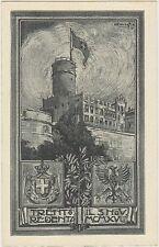 TRENTO REDENTA IL 3 NOVEMBRE 1918 - CARTOLINA ILLUSTRATA WW1 GUERRA