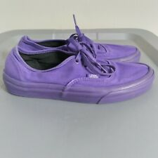 Vans Authentic Off The Wall Women's Size 7 Shoes Purple Low Top Skating Sneakers