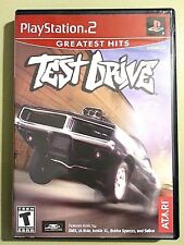 Test Drive Greatest Hits - Playstation 2 Game Complete ATARI