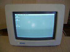 Atari 520 1040 ST STE Mega Computer SM 124 High Resolution Monitor READ DESCRIPT