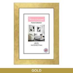 Square sizes Picture Frames Black White Photo Poster Frame Grey Gold Silver Oak