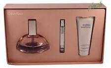 Euphoria Endless By Calvin Klein 3 Ps Set 4.0 oz/120 ml Edp Spray  Women New Box