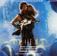 Aliens ( 1986 ) - James Horner - Varese Records - Score - Soundtrack - CD
