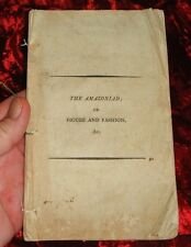 PUBLISHED ANONYMOUSLY - THE AMAZONIAD - DUBLIN 1806 - FIRST EVER GOSSIP MAGAZINE
