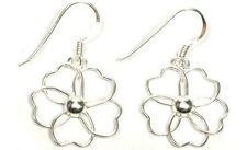 Sterling Designer Flower Hooks Ancient Roman Emperor Julius Caesar's Britannia