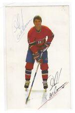 1985 Montréal Canadiens  Guy Carbonneau signed photo