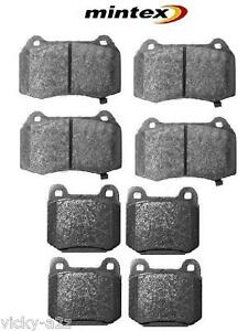 FOR NISSAN 350Z 3.5 2003 ONWARDS FRONT & REAR MINTEX BRAKE PADS BREMBO CALIPER