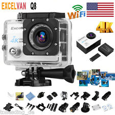 """2"""" Ultra HD 1080P 4K 16MP WiFi Action DV Camcorder Waterproof Sports Camera Cam"""
