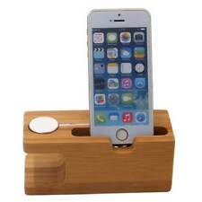 2in1 Desktop Stand Holder Charger Cord Docking Station For Apple Watch iPhone