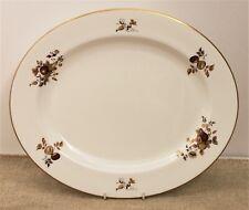Royal Worcester Large Oval Platter - Autumn Gold Design - Thames Hospice