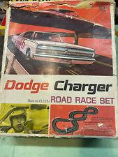 Eldon Road Race Set 1/32. Dodge Charger! Complete+Bonus