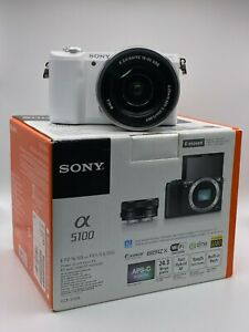 Sony Alpha A5100 Mirrorless Digital Camera - 16-50mm Lens **Low Shutter Count**