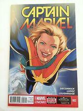 Captain Marvel 2 2014 Near Mint Condition Nm