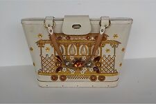 Enid Collins Purse Cable Car Handbag Vintage Rhinestone Bag