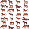 AN8702 30 or 60Stk. 1:87 Gut Bemalte Bauernhof Tiere Pferde Spur h0