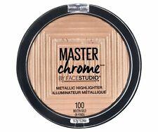 Maybelline Master Chrome Metallic Highlighter 100 MOLTEN GOLD New