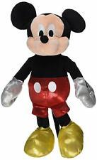 "NWT Mickey Mouse Sparkle Ty Plush stuffed animal figure 8"" 2016 Disney"