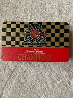 Empty NASCAR 25th Anniversary Winston Cup Series Champions Matchbox Tin