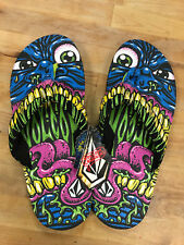 Volcom Creedlers Sandal Jimbo Philips Gr.45 NEUWARE Surf Skate Rar Item  Artwork
