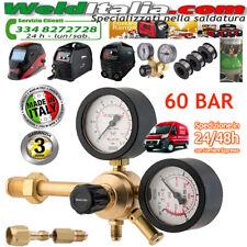 RIDUTTORE ALTA PRESSIONE AZOTO 60 BAR MAJOR HP OXYTURBO GAS 50 MC/H FINO 300 BAR
