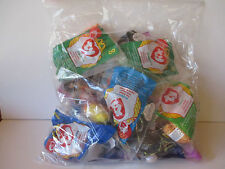"""1998 McDONALD'S TY BEANIE BABIES ASSORTMENT OF """"17"""" - NEW - FREE SHIPPING"""