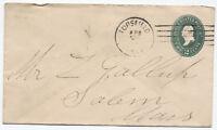 1894 Topsfield Massachusetts Pseudomachine Cancel to Salem MA [3399]