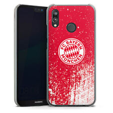 Huawei P20 Lite Handyhülle Case Hülle - Splatter Rot - FC Bayern München