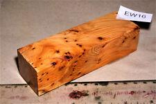 Griffblock Eibe Maser stabilisiert 129x40x32mm puq EW16