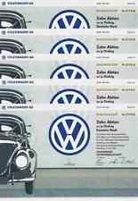 10 x VW Volkswagenwerk 1991 Käfer Golf Wolfsburg 500 DM Carl Horst Hahn Porsche