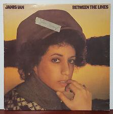 "Janis Ian - Between the Lines 1975 Columbia 12"" 33 RPM LP (VG+)"