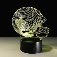 New Orleans Saints Collectible Decor Night Light Touch Lamp Gift- Men,Kids,Women