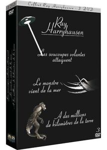 Ray Harryhausen -6 DVD -Les Soucoupes Volantes Attaquent/Le Monstre.../A des m..